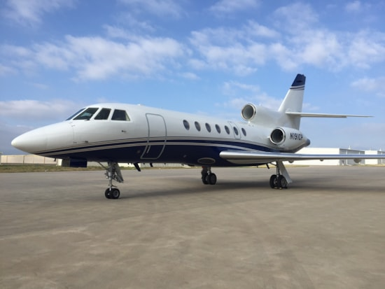 Private jet for sale charter: 2007 Dassault Falcon 50EX heavy jet