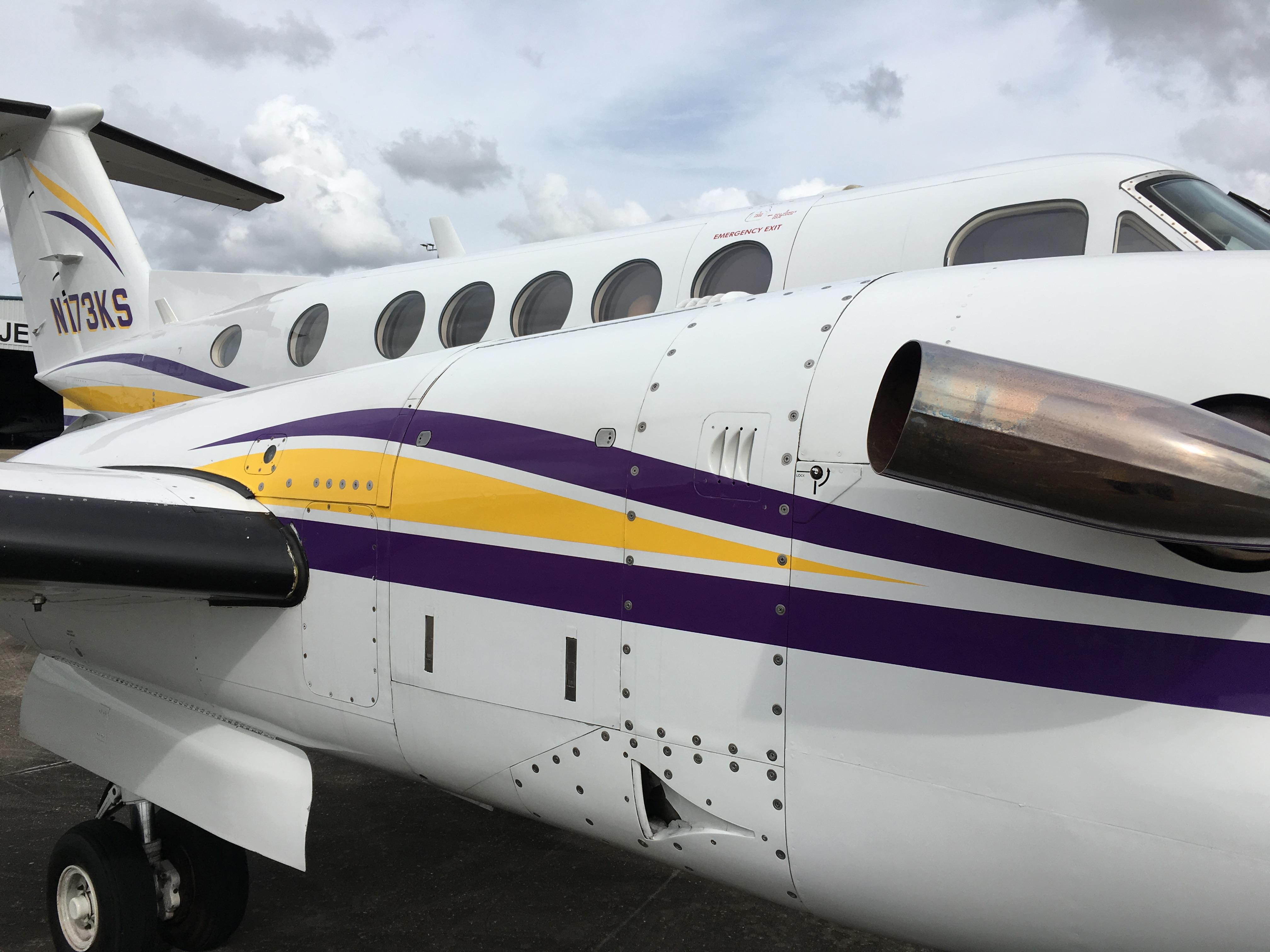 King Air 300 exterior