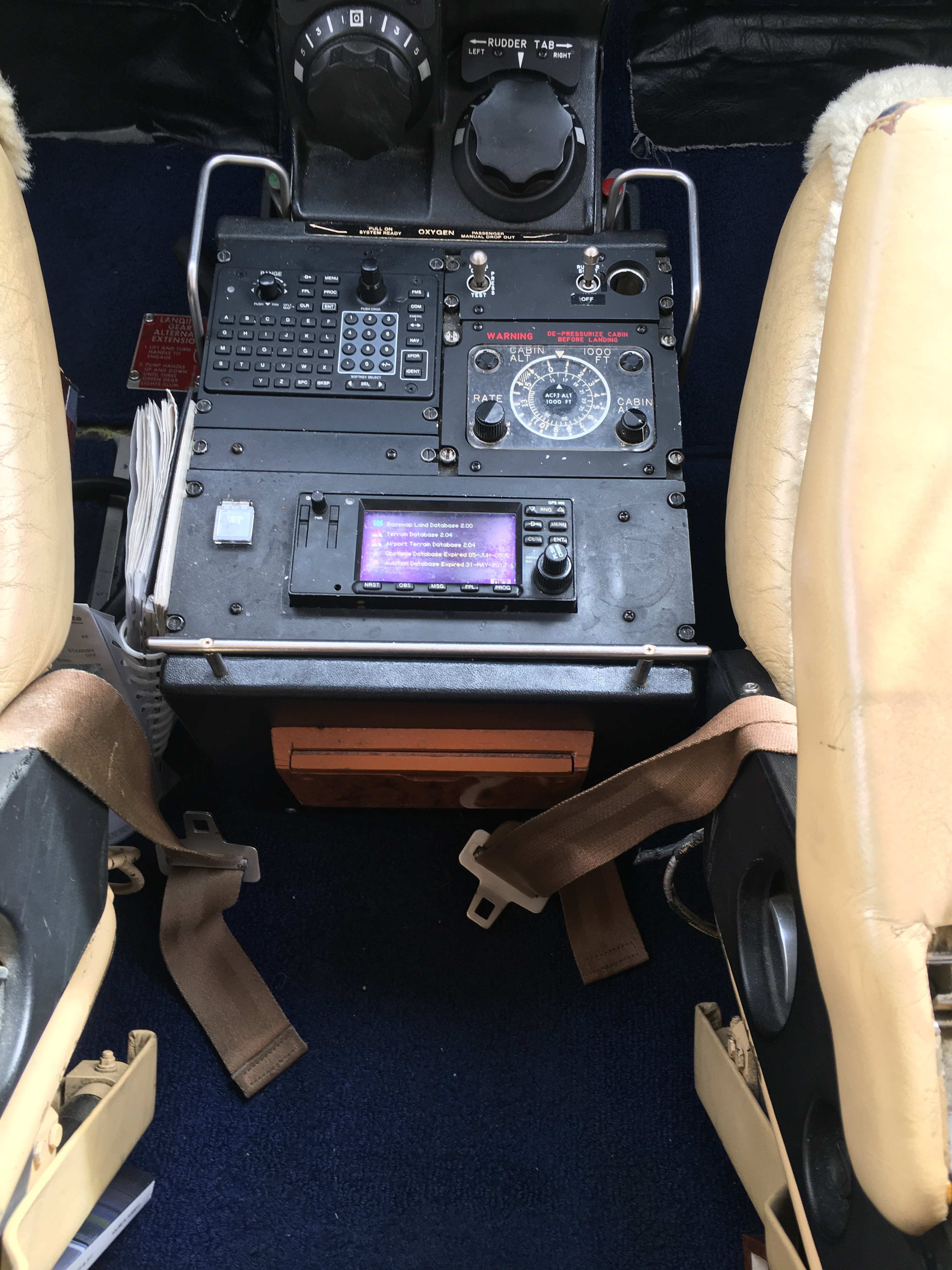 King Air 300 panel