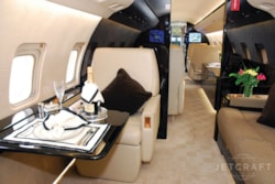 Private jet for sale charter: 2009 Bombardier Challenger 850 heavy jet