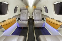 Private jet for sale charter: 2012 Embraer Phenom 300 midsize jet