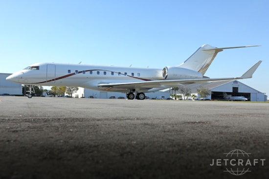 Private jet for sale charter: 2013 Bombardier Global 5000 long-range heavy jet