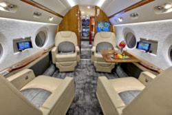 Private jet for sale charter: 2011 Gulfstream G550 long range heavy jet