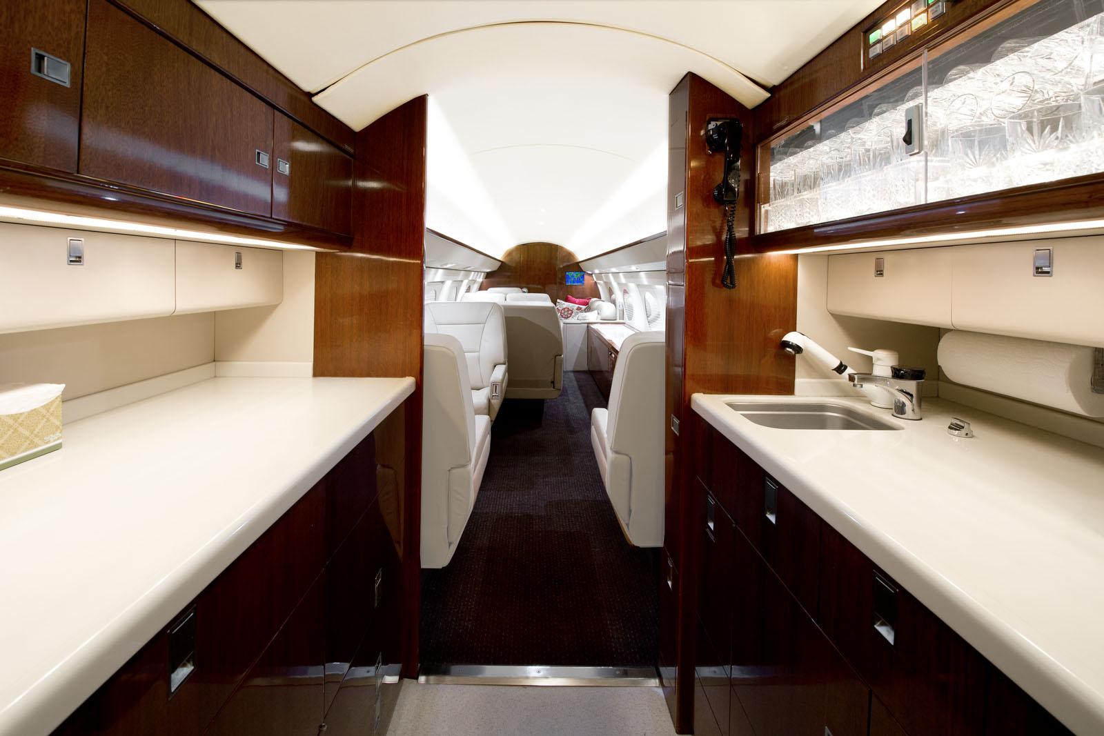 Gulfstream III interior