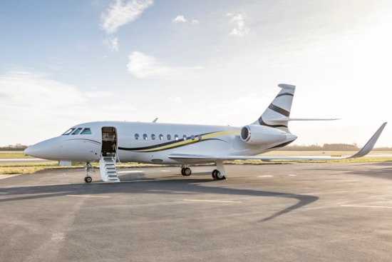 Private jet for sale charter: 2014 Dassault Falcon 2000S heavy jet
