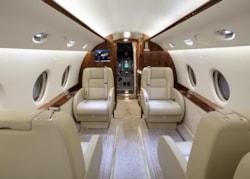 Private jet for sale charter: 2003 Gulfstream G200 super-midsize jet