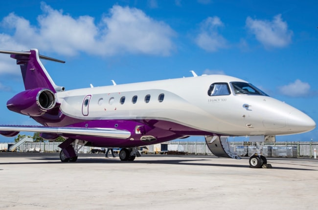 Private jet for sale charter: 2016 Embraer Legacy 500 super mid jet