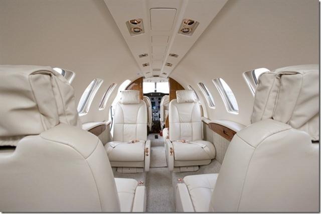 Citation CJ2+ interior