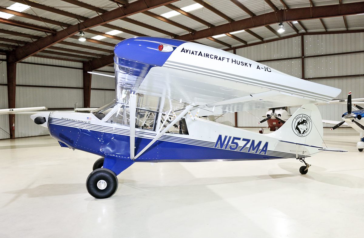 Aircraft Listing - Husky A-1C listed for sale