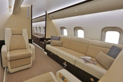 Private jet for sale charter: 2016 Bombardier Global 5000 long range heavy jet