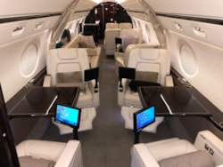 Private jet for sale charter: 2013 Gulfstream G550 heavy jet