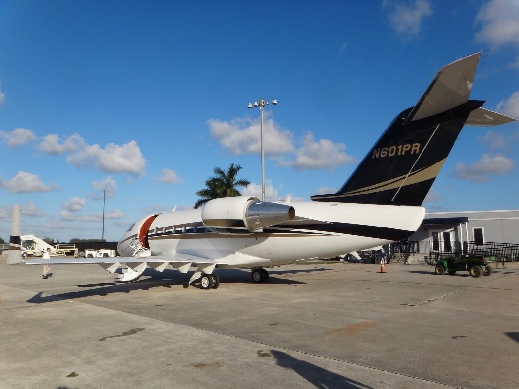 Challenger 601-1A exterior