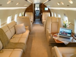 Private jet for sale charter: 1985 Bombardier Challenger 601 heavy jet