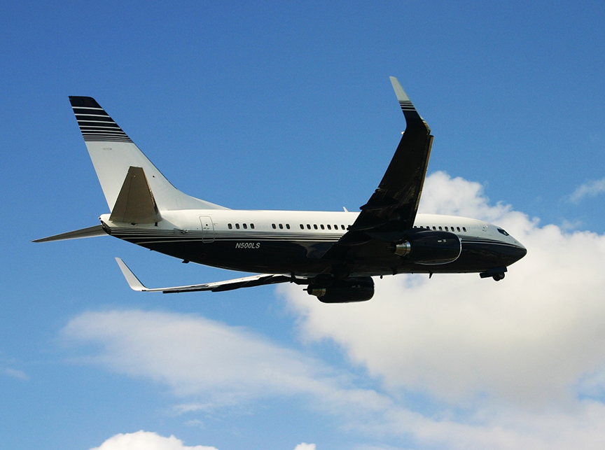 Aircraft Listing - Boeing 737 listed for sale