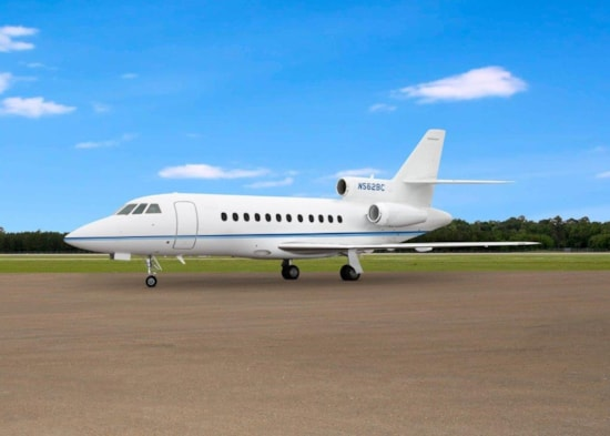Private jet for sale charter: 1991 Dassault Falcon 900B heavy jet