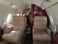 Private jet for sale charter: 1982 Learjet 55 midsize jet