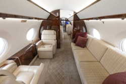 Private jet for sale charter: 2016 Gulfstream G650ER ultra long range heavy jet