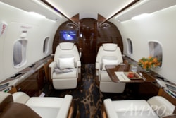 Private jet for sale charter: 2017 Bombardier Challenger 350 super-midsize jet