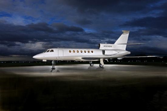 Private jet for sale charter 1981 Dassault Falcon 50 super-midsize jet
