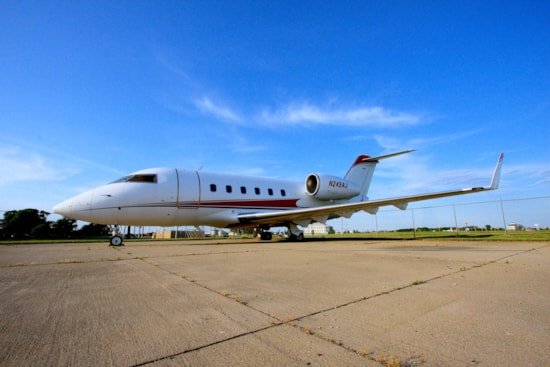 Private jet for sale charter: 1982 Bombardier Challenger 600 heavy jet