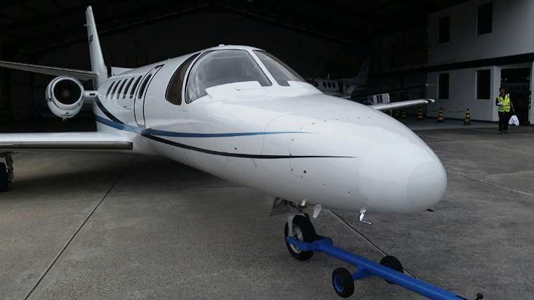 Citation II exterior