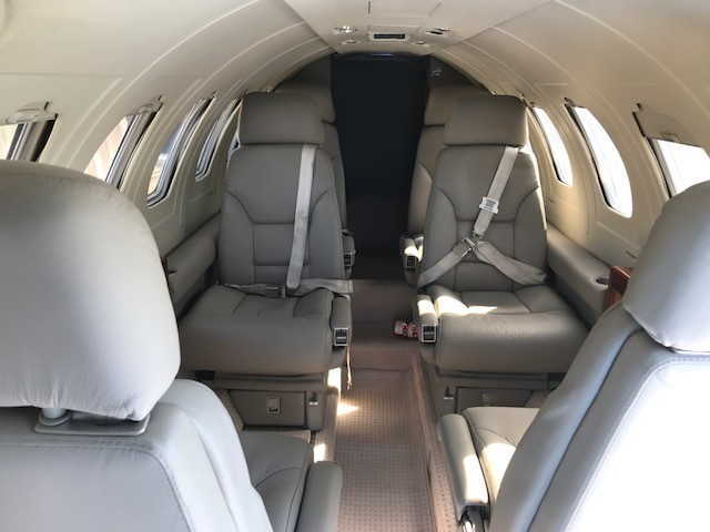 Citation II interior