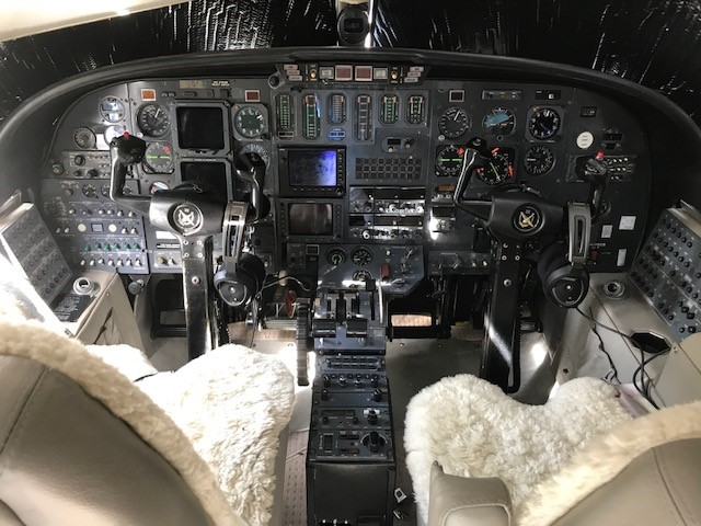 Citation II panel