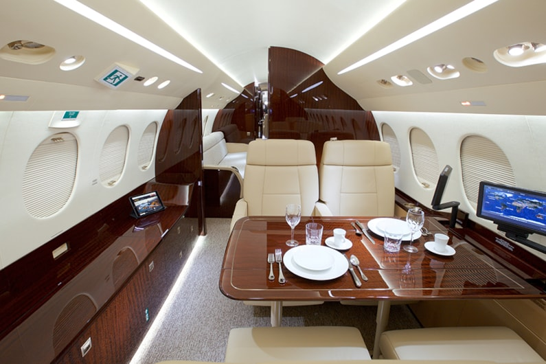 Private jet for sale charter: 2016 Dassault Falcon 8X heavy jet