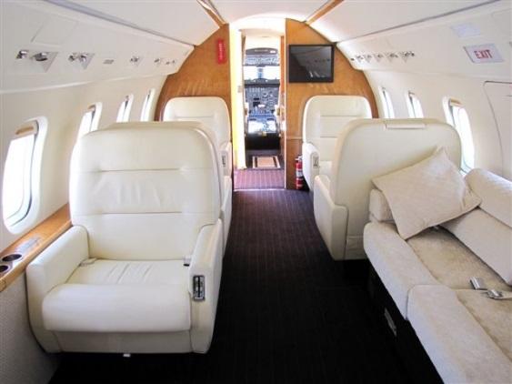 Challenger 601-3R interior