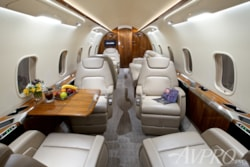 Private jet for sale charter: 2014 Bombardier Challenger 350 supermid jet