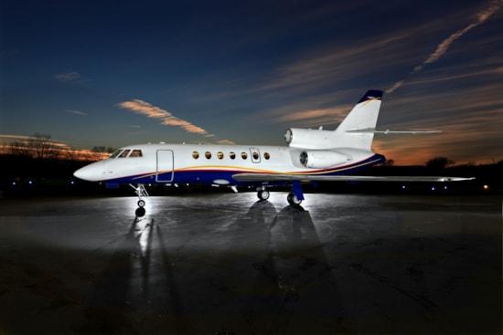 Private jet for sale charter: 1989 Dassault Falcon 50 supermid jet
