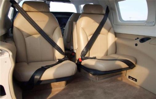 Meridian PA46-500TP interior