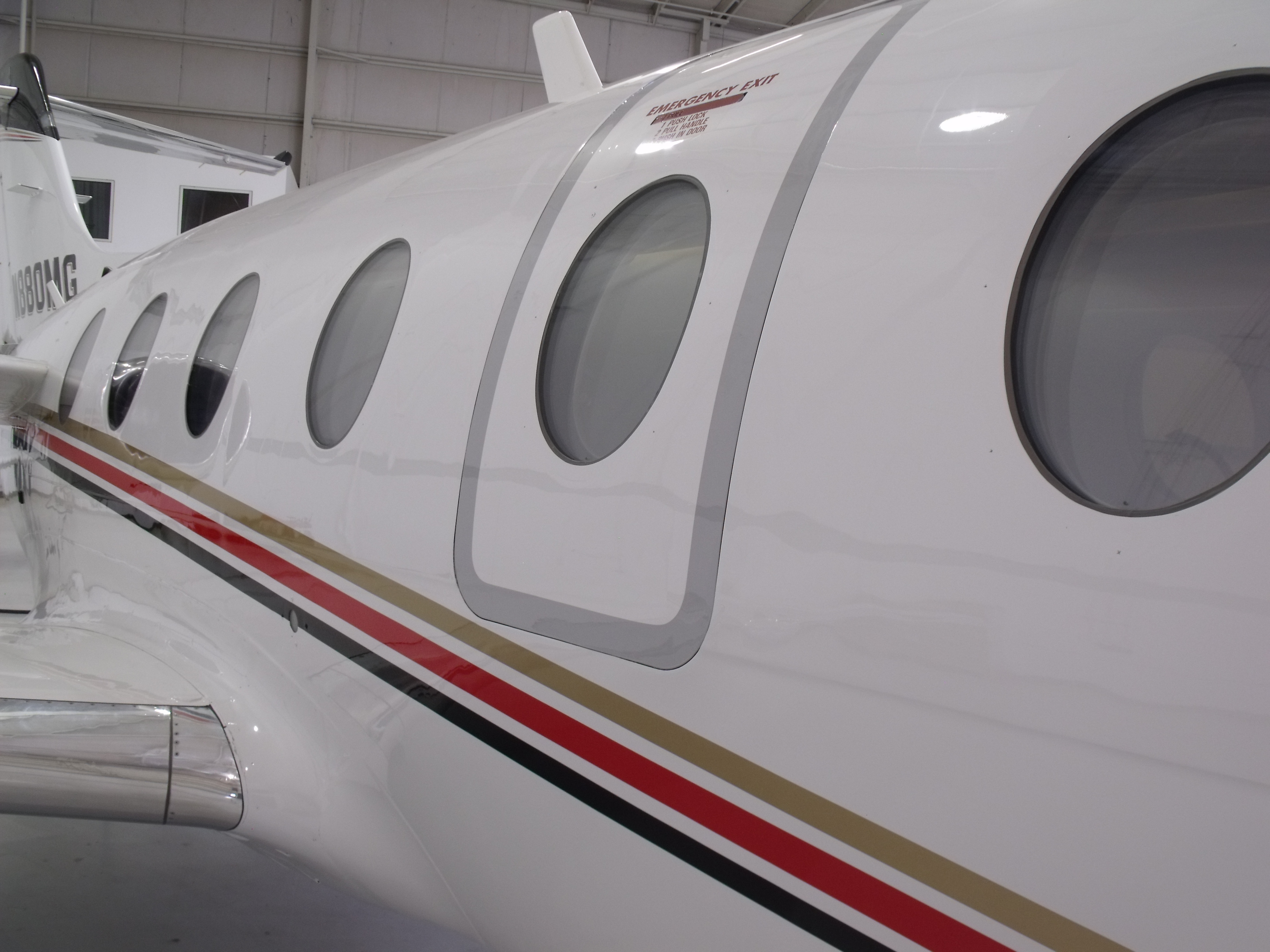 Beechjet 400A exterior