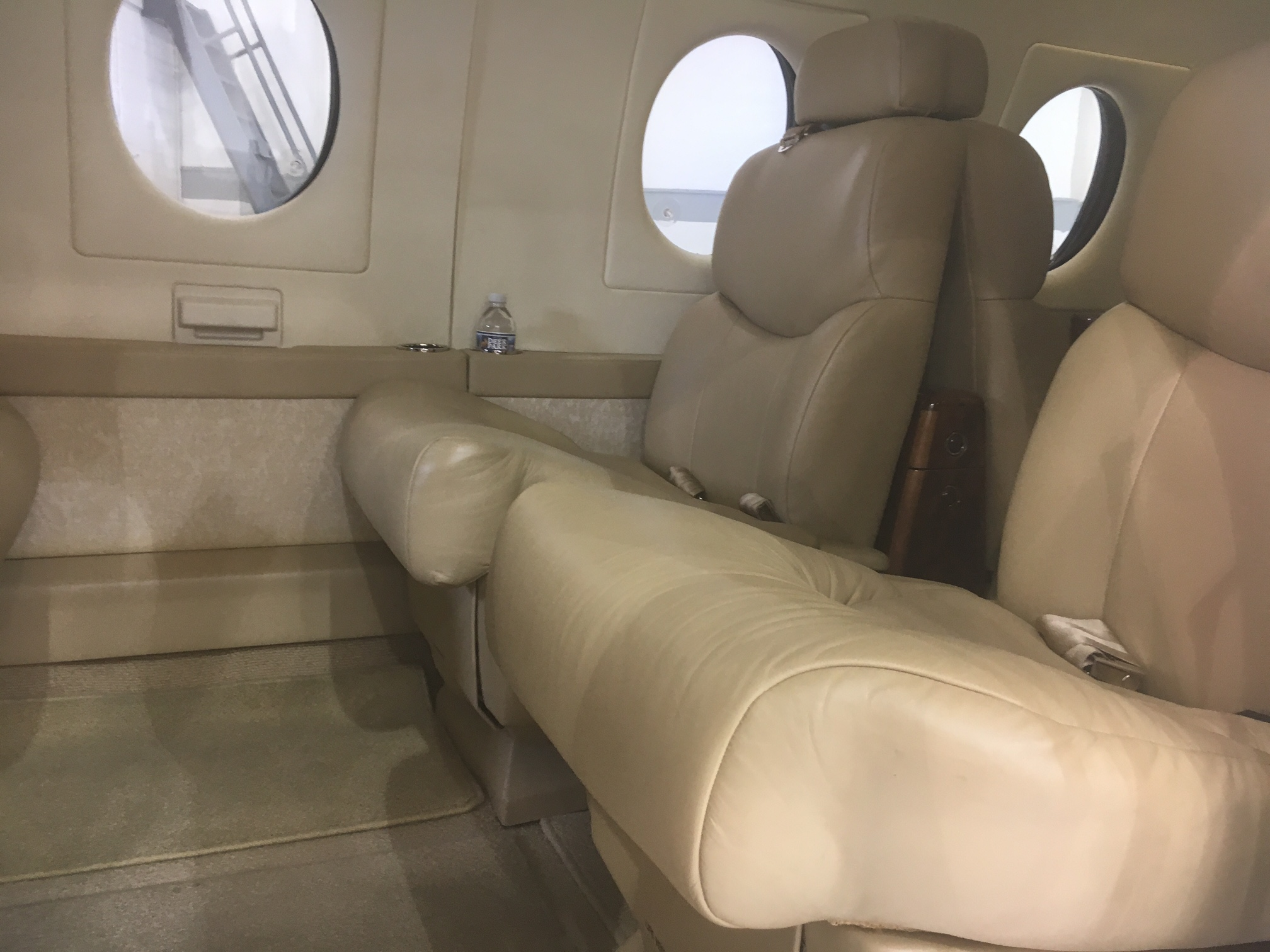 Beechjet 400A interior