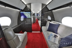 Private jet for sale charter: 2015 Gulfstream G650 ultra long range heavy jet
