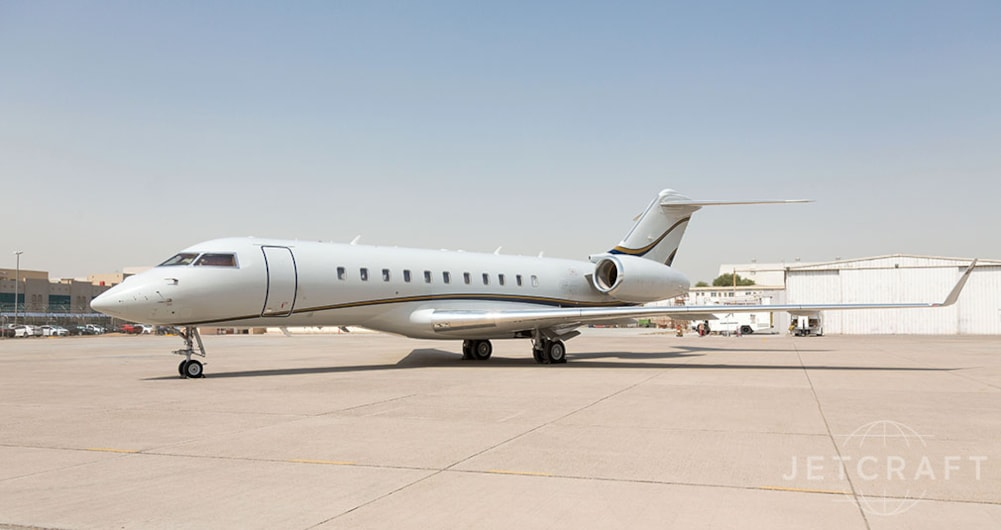Private jet for sale charter: 2010 Bombardier Global 5000 heavy jet