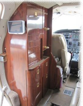 Citation V interior