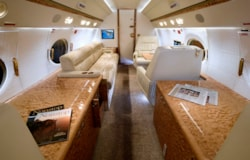 Private jet for sale charter: 2007 Gulfstream G450 heavy jet