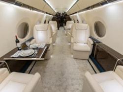 Private jet for sale charter: 2013 Gulfstream G650 ultra long range heavy jet