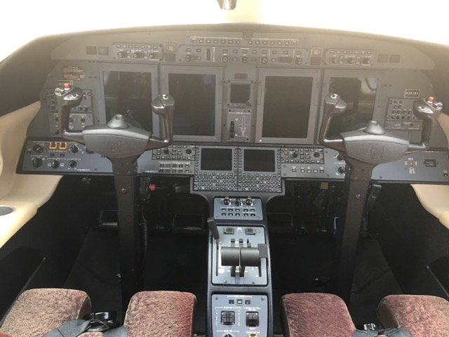 Citation CJ4 panel