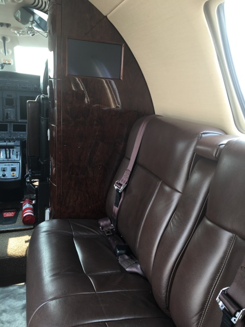 Citation CJ4 interior