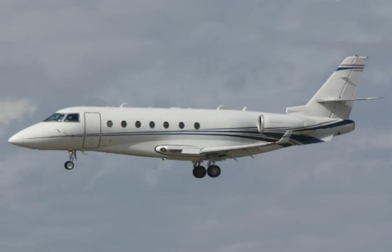 Private jet for sale charter: 2008 Gulfstream G200 super midsize jet