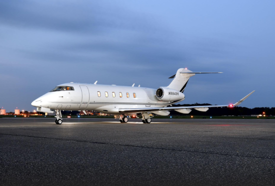Private jet for sale charter: 2017 Bombardier Challenger 350 super midsize jet