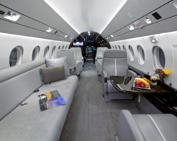Private jet for sale charter: 2011 Dassault Falcon 2000LX heavy jet