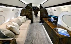 Private jet for sale charter 2013 Gulfstream G650ER ultra long range heavy jet