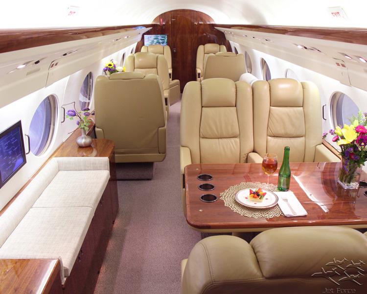 Gulfstream IV panel