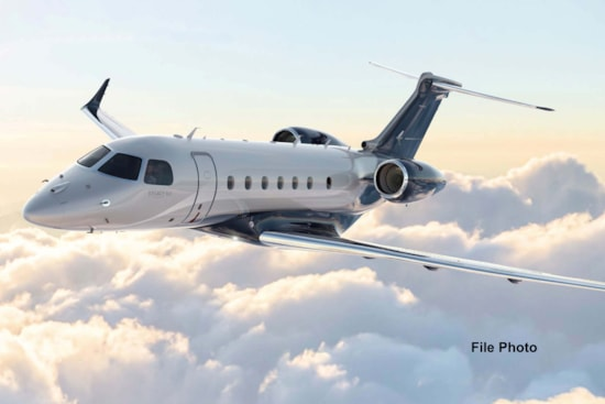 Private jet for sale charter: 2017 Embraer Legacy 500 supermid jet