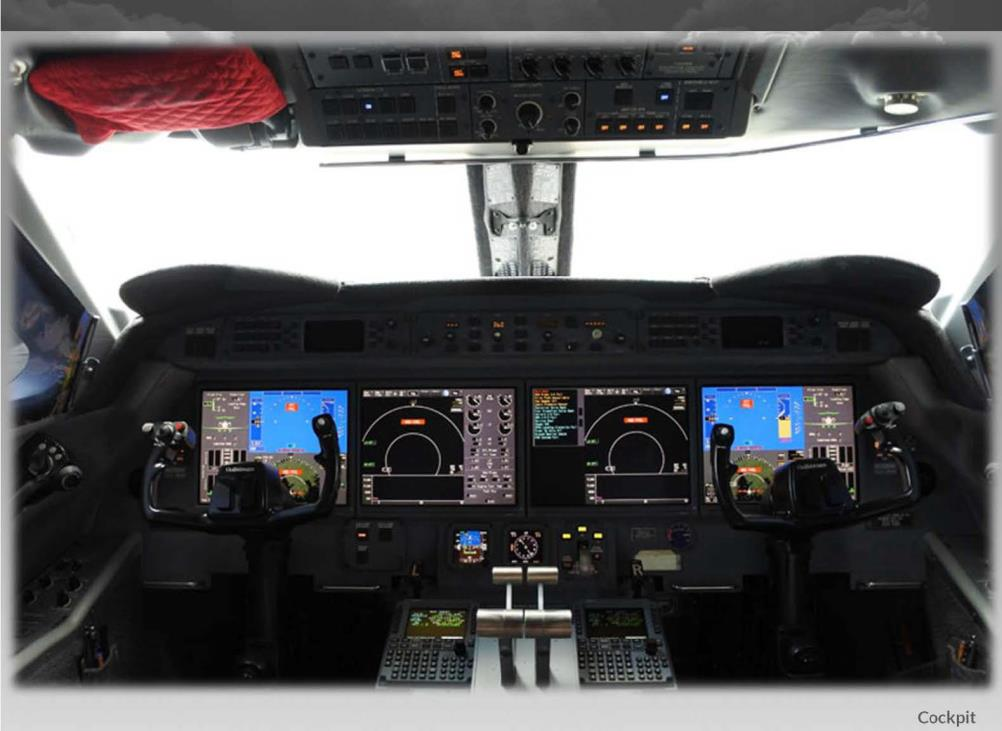 Gulfstream G450 panel