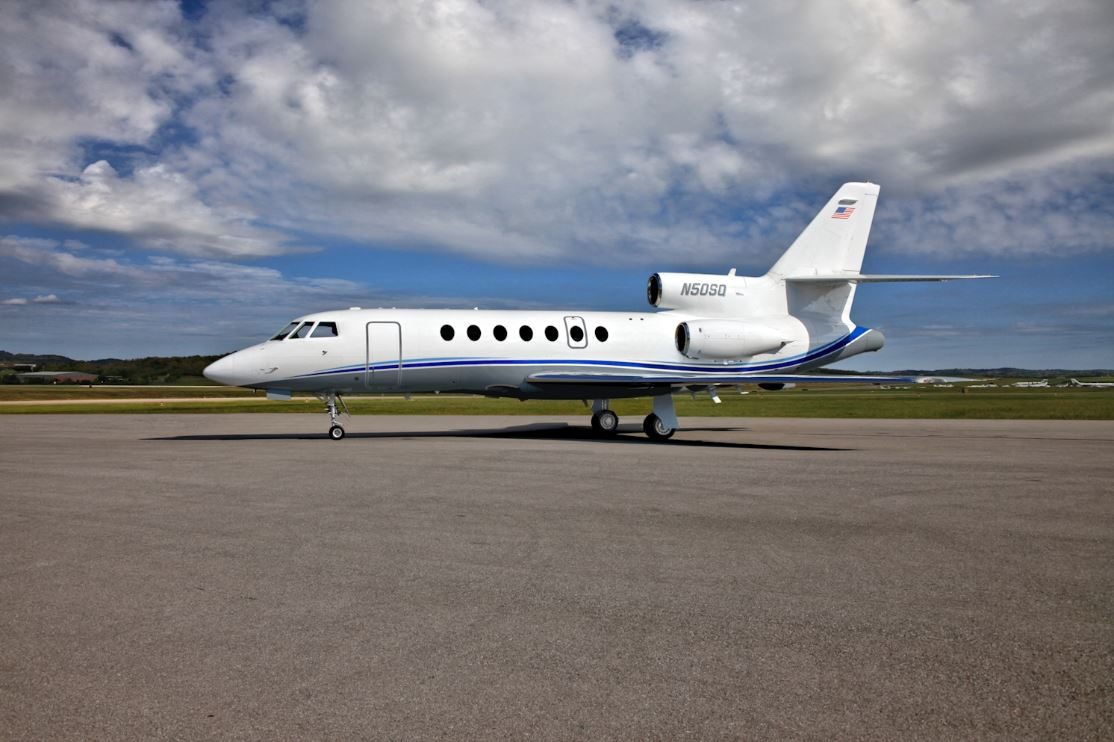 Aircraft Listing - Falcon 50 listed for sale