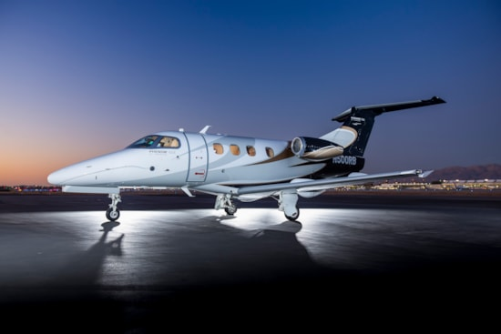Private jet for sale charter: 2014 Embraer Phenom 100 very light jet